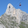 Peña Remoña and the cable car