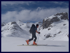 Click on image to go to Ski Touring Holidays