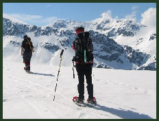 Click on image to go to Snowshoeing Holidays