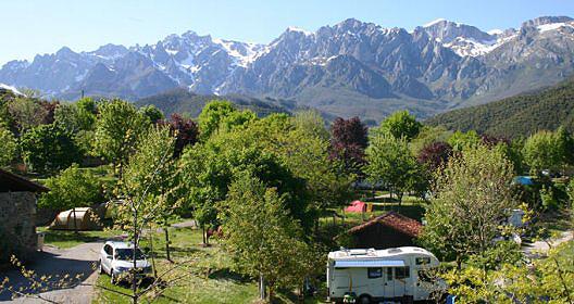 Picos De Europa Campsites