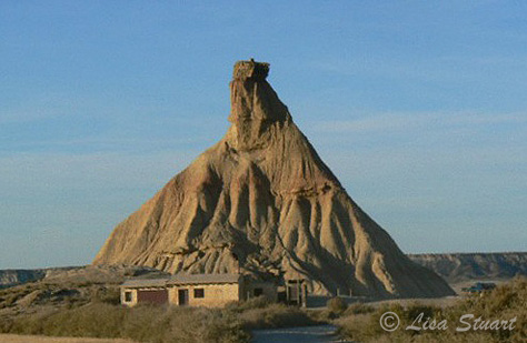 Castil de Tierra in the Bardenas Reales